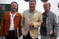Lozzo di Cadore - Domenico Castaldi, Boris Brollo e Mario Furlanetto