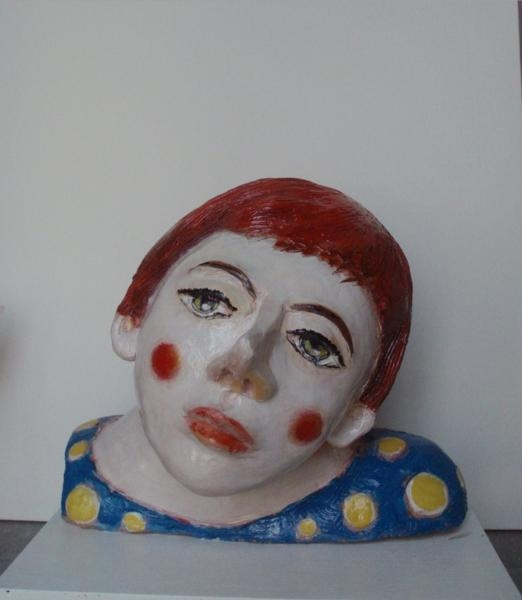 Domenico-Castaldi-clown-malinconico-terracotta-policroma-anno-2009_RID