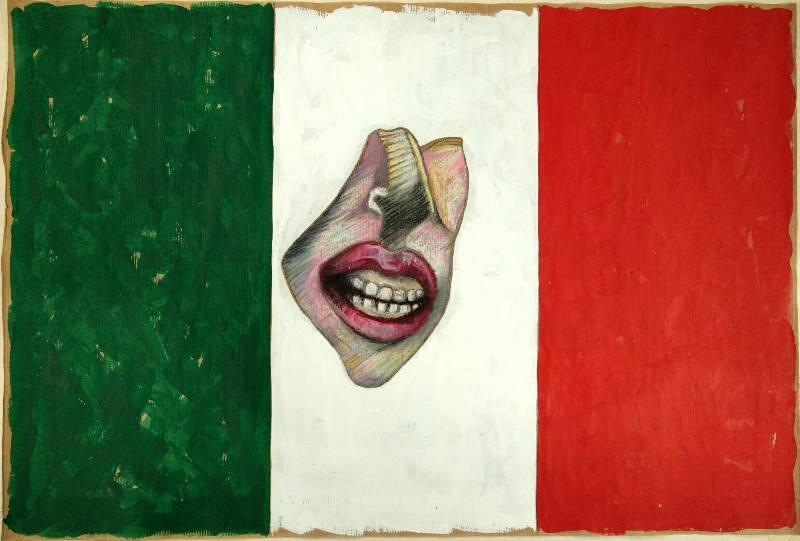 Bandiera con ghigno